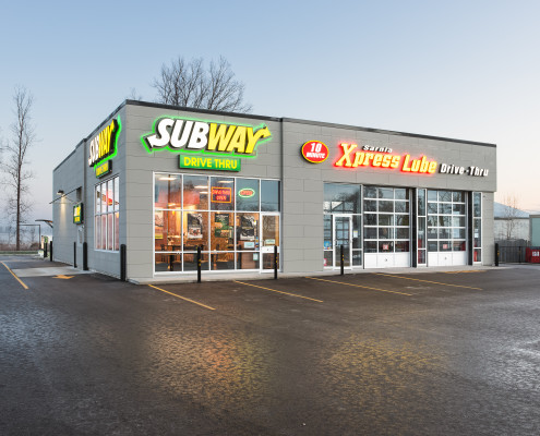 Sarnia Express Lube - Subway
